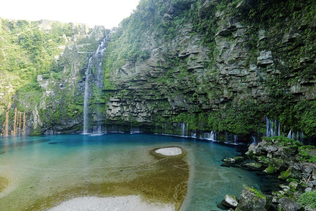 大河ドラマ「西郷どん」のオープニングで話題の「雄川の滝」は南大隅町にある