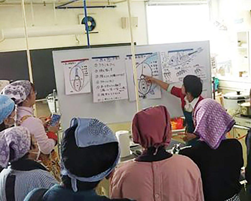 魚のさばき方教室