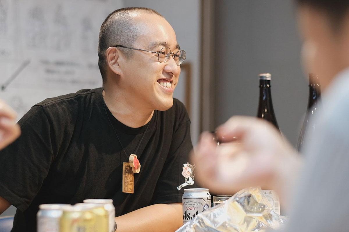 運営メンバーの田中光行さん