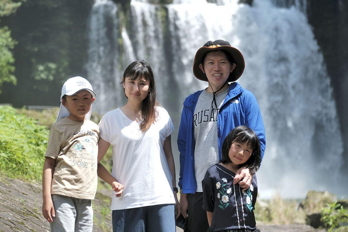 田原さんご家族。