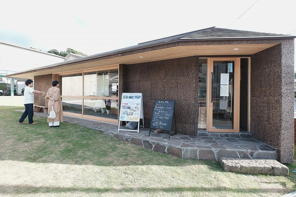 日置市湯之元温泉郷の一角にできたハマポケカフェ