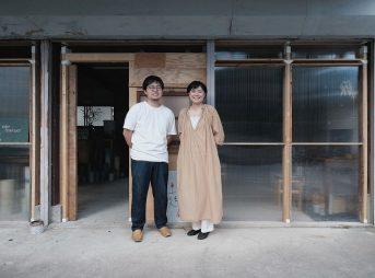 日置市に住む田渕一将さん・尚子さん